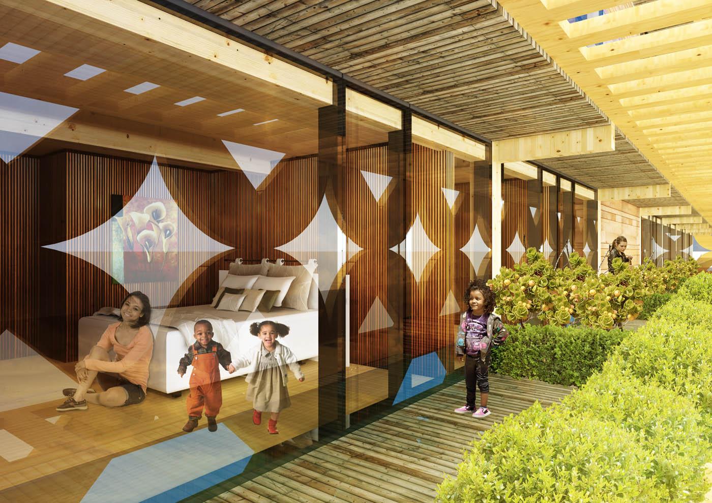 Maison en bois afrique