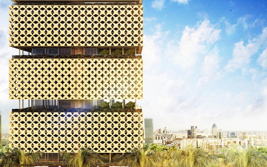 La première tour en bois d'Afrique sera une surélévation d'un bâtiment de 4 étages