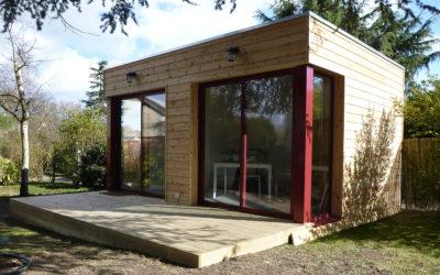 R alisations maisons bois la maison bois par maisons - Extension de maison en bois prix au m2 ...