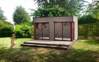 3 studios bois indépendants à poser dans son jardin
