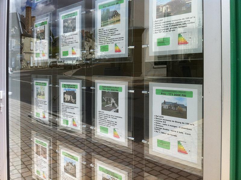 L'étiquette énergie du DPE souvent absente des annonces immobilières web
