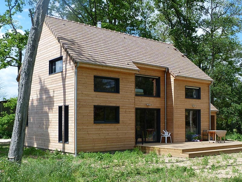 BAC Maisons Bois : construction de maisons ossature bois dans le Loiret, Orléans