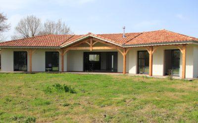 Maisons individuelle bois dans les Landes