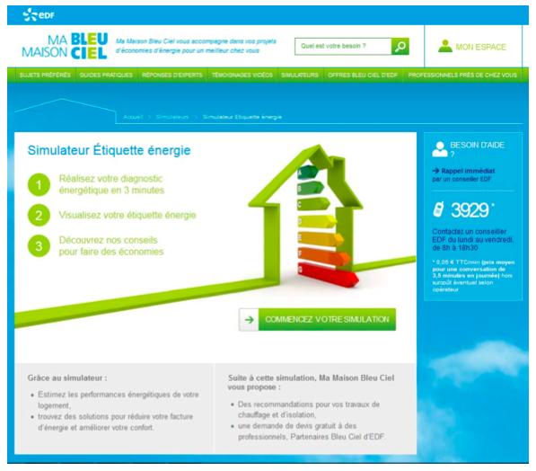 EDF propose un site pour économiser l'énergie