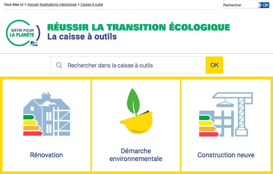 Caisse à outils documentaire de la FFB pour conquérir les nouveaux marchés de la transition écologique