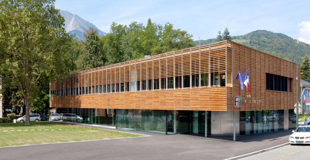 Palmar s des r alisations bois rh ne alpes 2013 centre for Architecte albertville