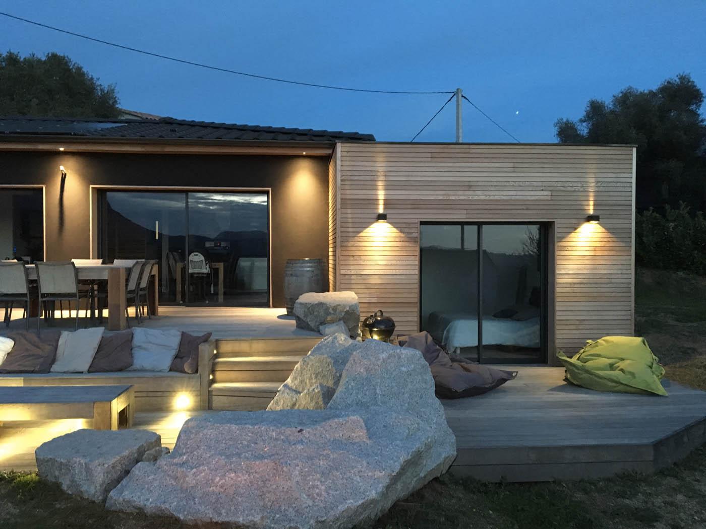 Maison bois en corse avie home for Constructeur de maison en bois en corse du sud