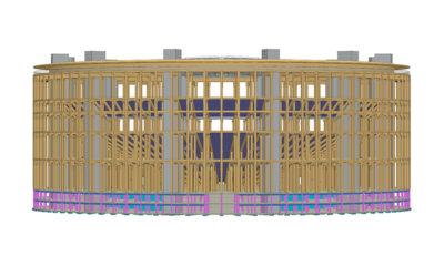 Et si le Colysée avait été construit en bois ?