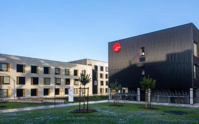 400 logements étudiants en modulaire bois livrés par Ossabois à Pessac (33)