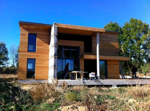 E-asy home : habitat Modulaire à ossature bois par e-concept