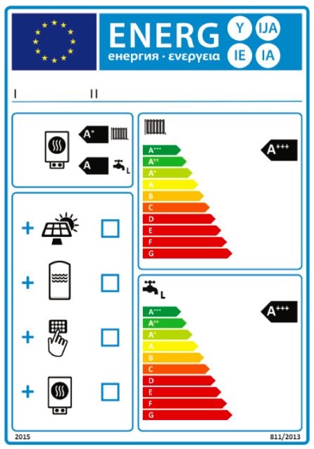 Avec le solaire visez l 39 tiquette nergie a pour l 39 eau chaude l - Etiquette energie maison ...