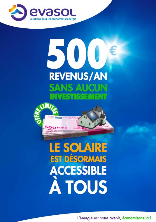 Evasol propose la Rente Solaire