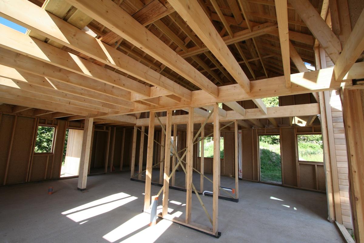 Construction Bois Maison : La maison ? ossature bois – la maison bois par maisons-bois.com