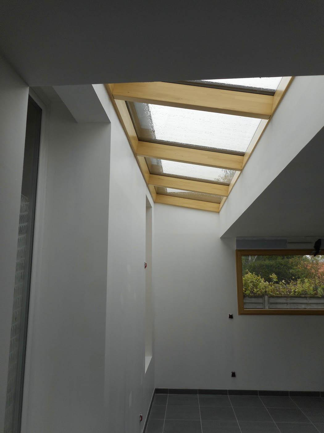 Extension ossature bois de 30 m2 par boisph re la maison bois par maisons - Prix ossature bois au m2 ...