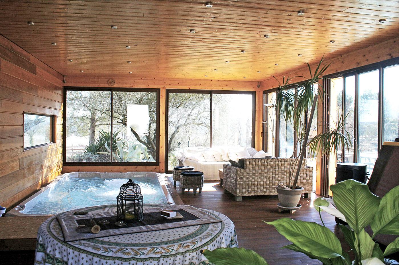 Maison Ossature Bois Vosges extension ossature bois d'une maison à montarnaud (34) par