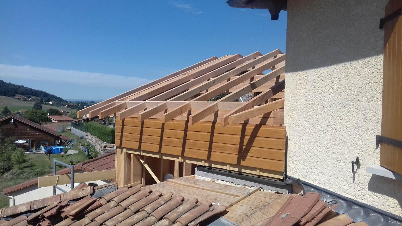 Extension sur l vation en ossature bois par studext la maison bois par maisons - Extension maison ossature bois ...