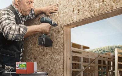 Les solutions de fixation dédiées à la construction ossature bois de fischer France