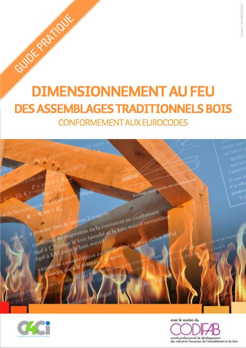 Dimensionnement au feu des assemblages traditionnels bois