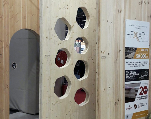 Hexapli : les panneaux de CLT français selon Piveteau Bois