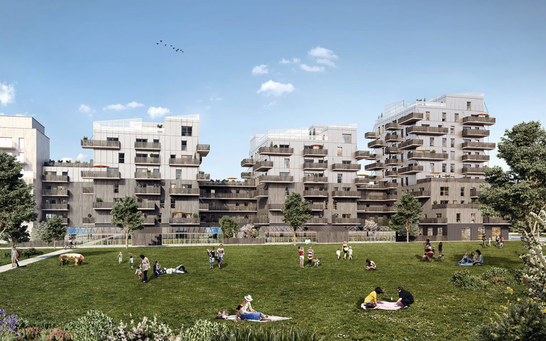 Sensations à Strasbourg : premier immeuble de grande hauteur 100 % bois bas carbone
