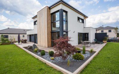 Maison à ossature bois basse consommation