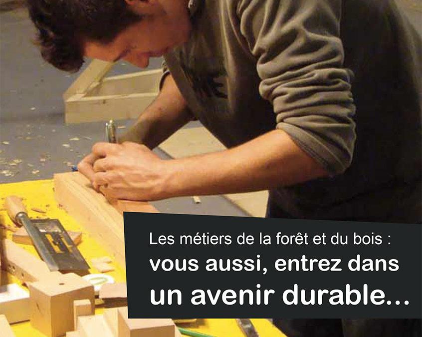 Découverte des métiers de la filière forêt-bois en Haute-Normandie