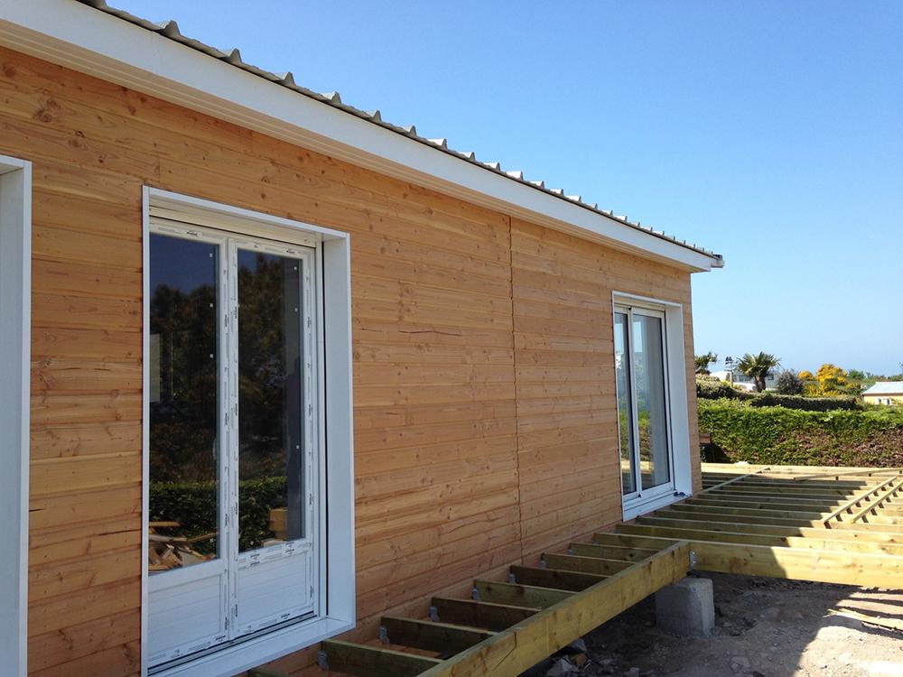 Kits  autoconstruction maison bois  la maison bois par  ~ Kit Maison Ossature Bois Autoconstruction