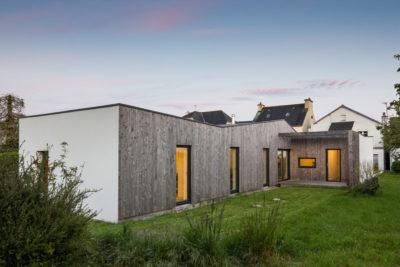Maison C : premier prix logements individuels > 120 m2  - Maître d'œuvre : Véronique Stéphan