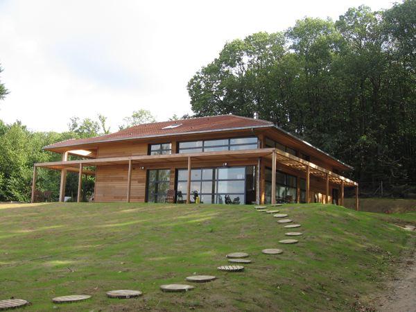 Atelier d'Architecture Marc Lafagne : architecte de votre maison bois en région parisienne