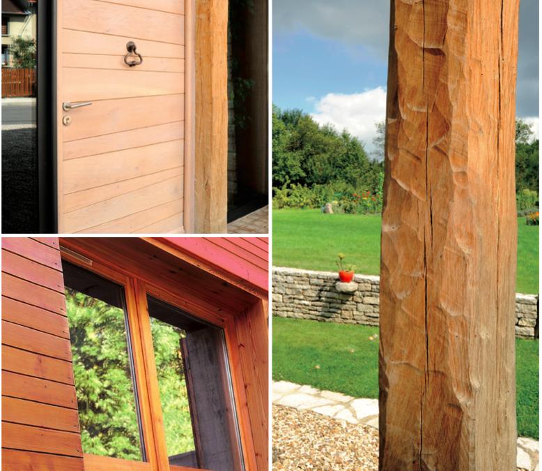 Une lasure nature pour l'extérieur des maisons bois