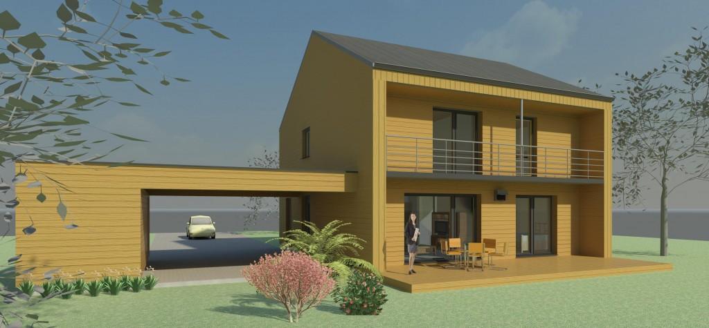 LES AIRELLES, constructions passives en Pays de Bray (76)