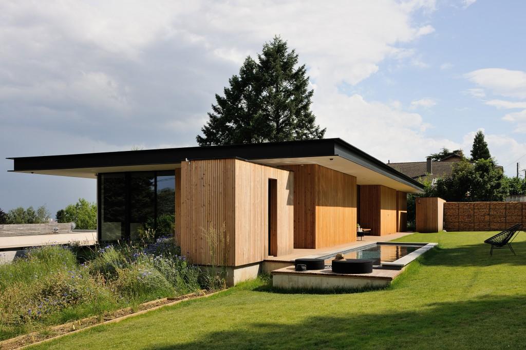 maison en bois rhone