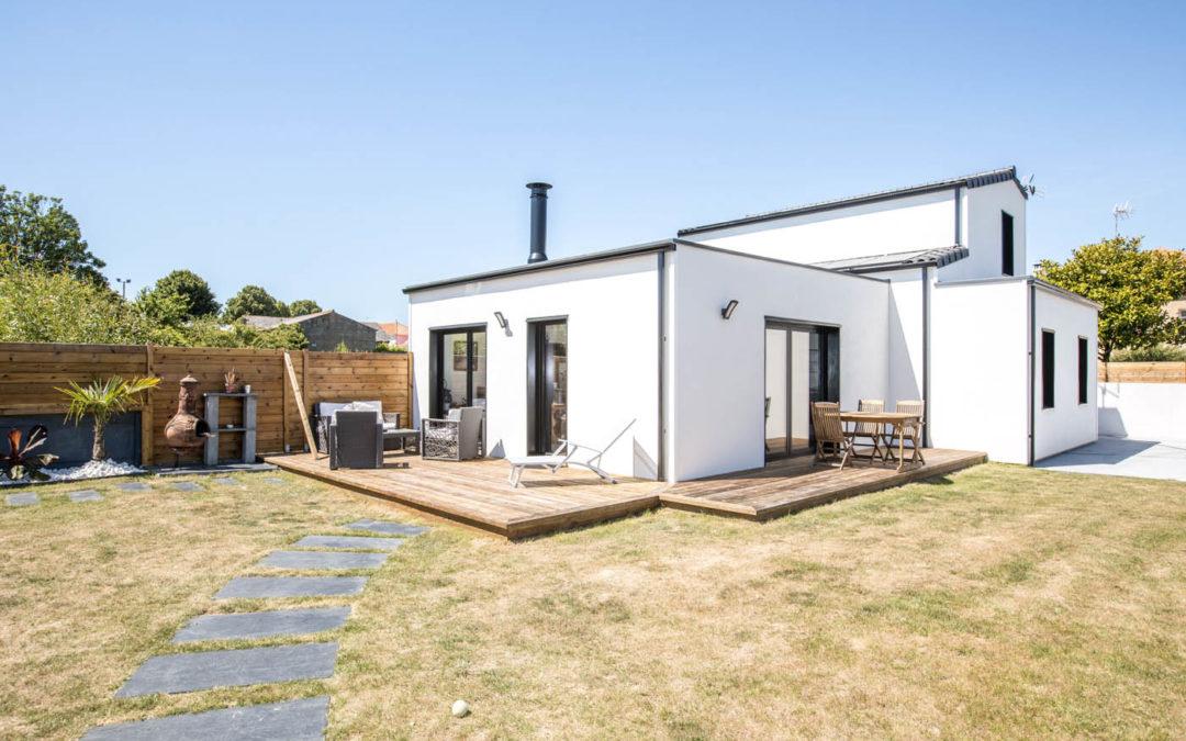 Maison à ossature bois Arcadial sur-mesure pour une famille Vendéenne (85)