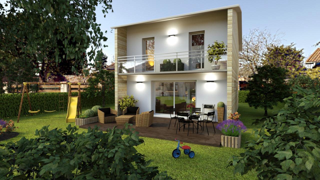 city la maison bois familiale et urbaine par ami bois. Black Bedroom Furniture Sets. Home Design Ideas