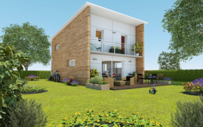 City : la maison bois familiale et urbaine par Ami Bois