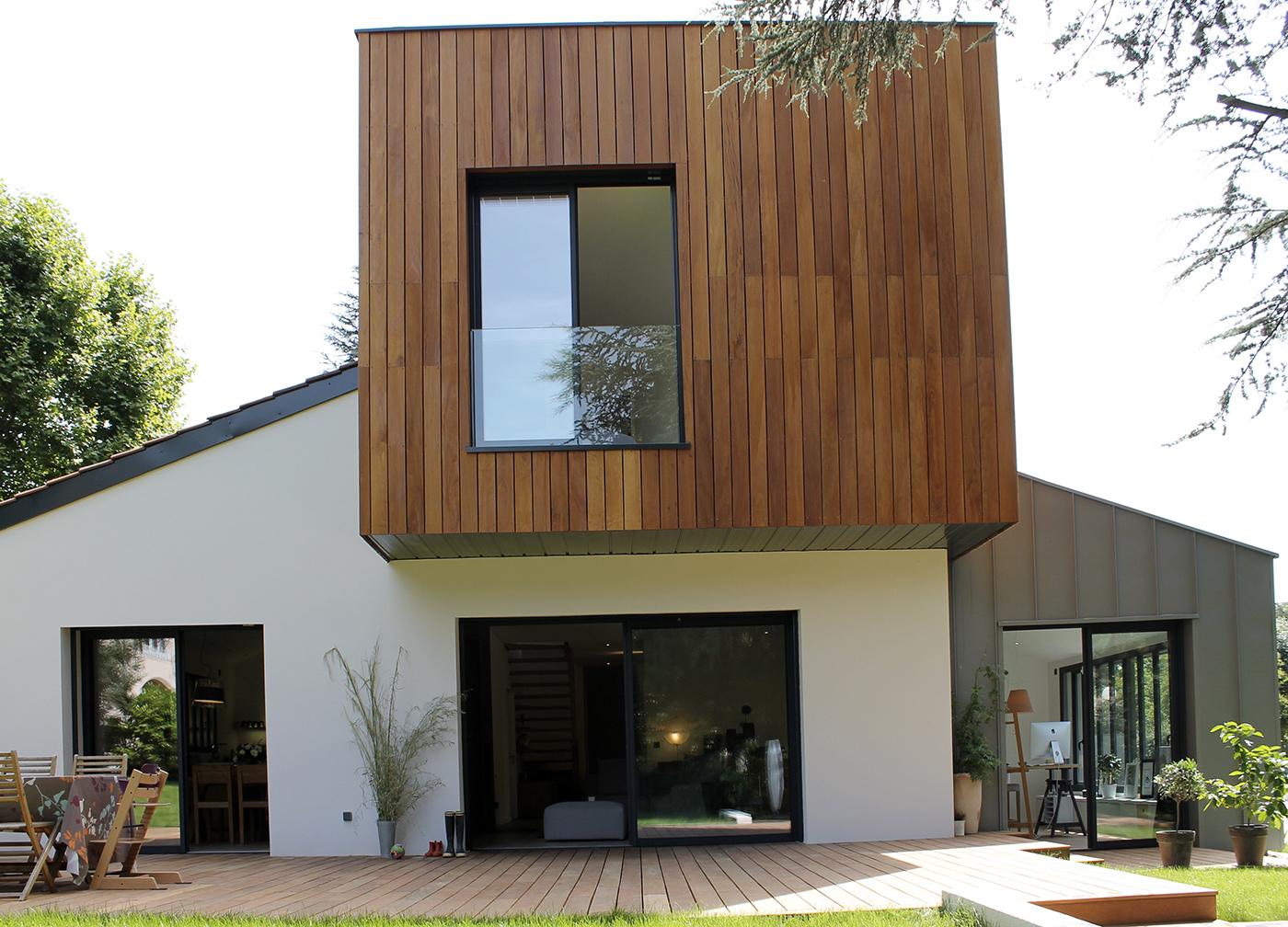 Maison contemporaine par casaboa la maison bois par maisons - Maison moderne bois ...
