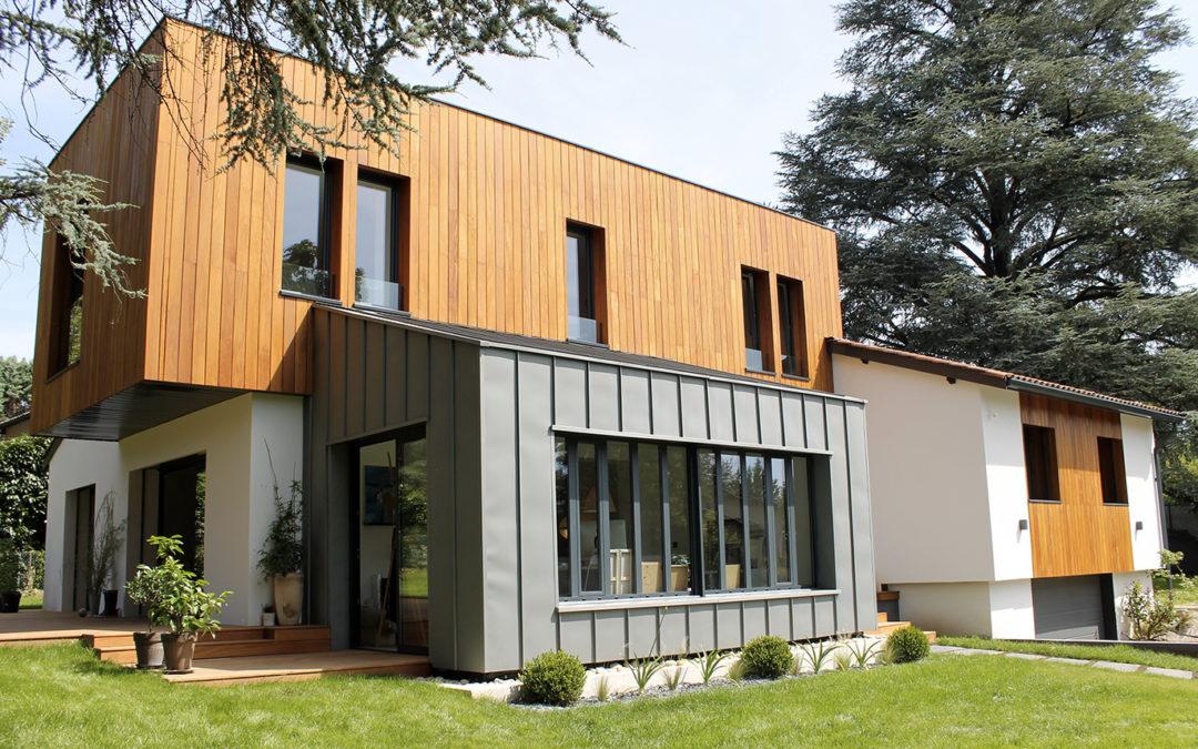 maison bois contemporaine ile de france ventana blog. Black Bedroom Furniture Sets. Home Design Ideas