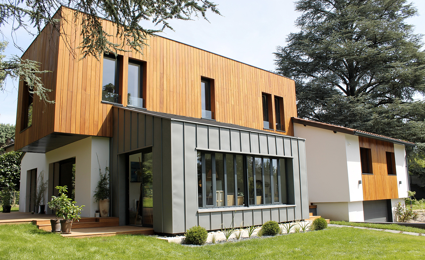 Maison contemporaine par casaboa la maison bois par for Extension prix