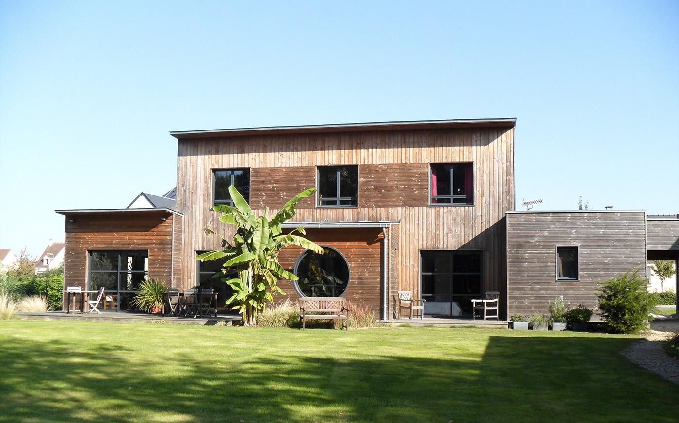 maison bois Cruard