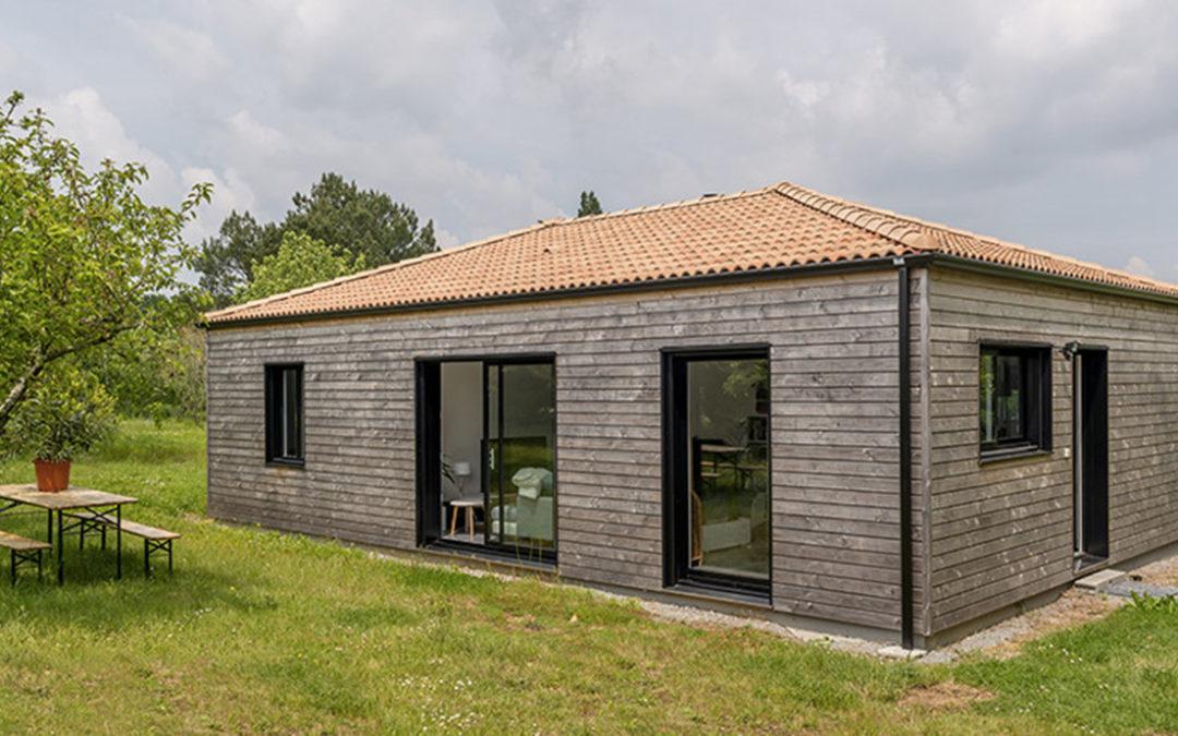 L'élégance d'une maison bois «optimisée» par Macoretz Bois