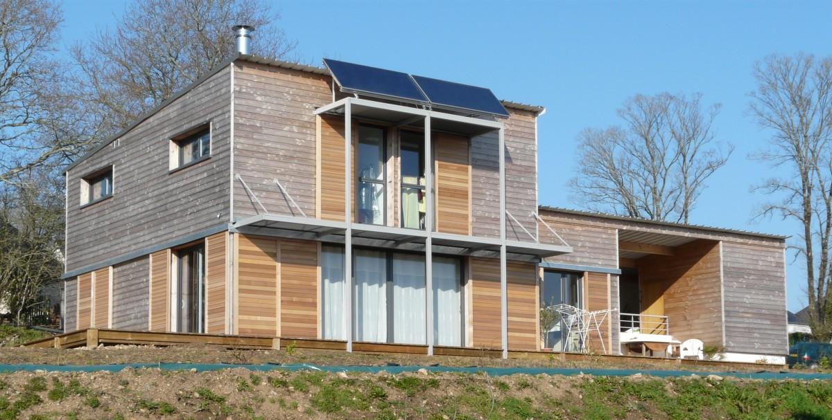 Maison bois morbihan segu maison for Constructeur de maison en bois dans le 31