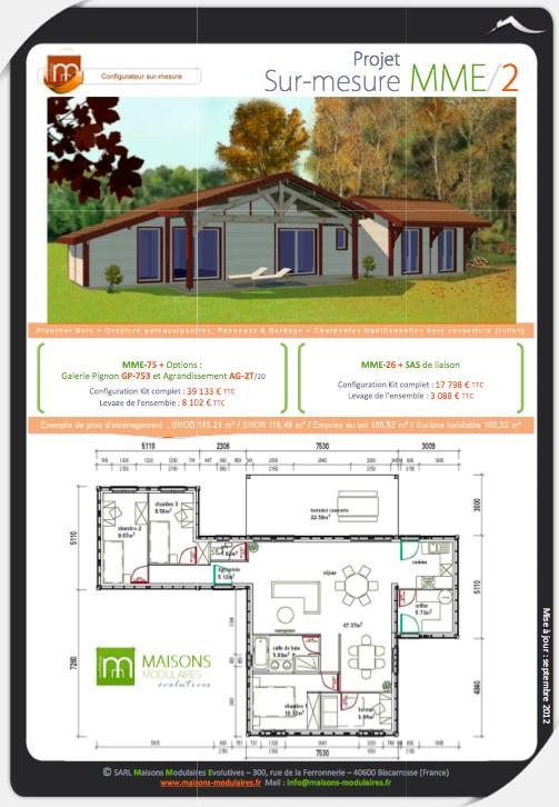 Maisons Modulaires Evolutives: la modularité bois à fond