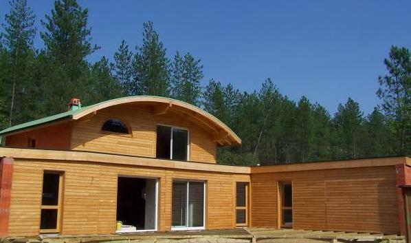 constructeur de maison bois en ardèche, faire construire une ... - Constructeur Maison Hors D Eau Hors D Air