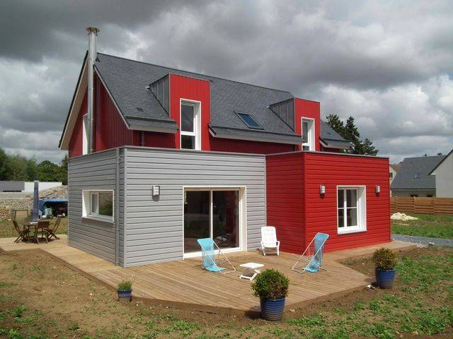 E2R Maisons Bois constructeur de maisons bois en Normandie la maison bois par maisons bois com # Maison En Bois Normandie