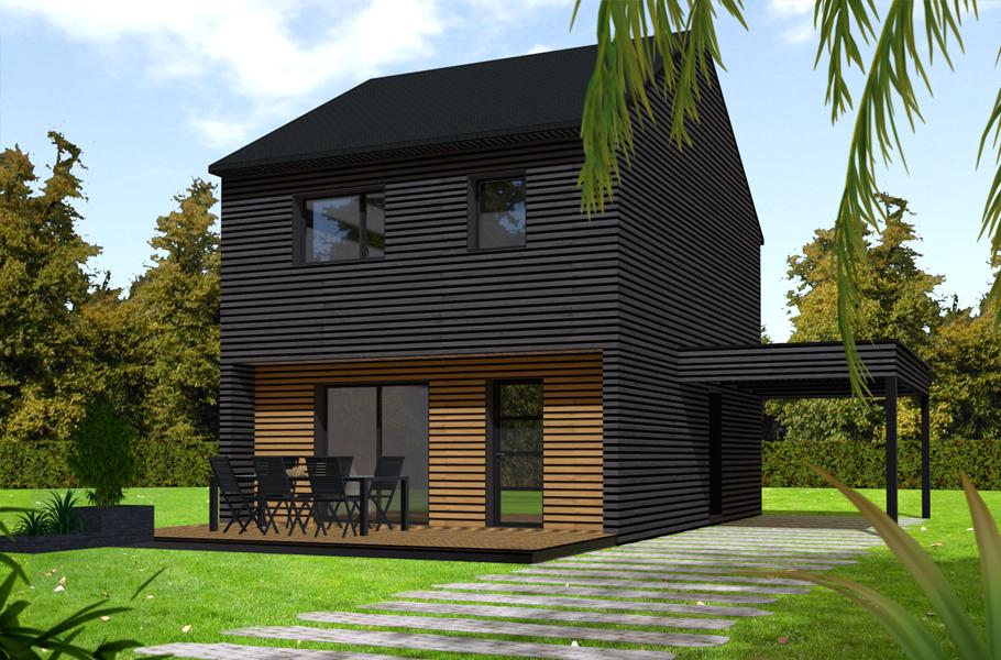 Primobois : maison bois dans le Val d'Oise