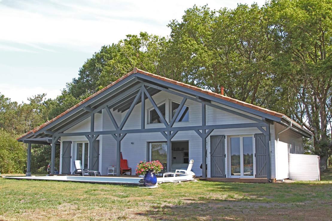 Alaya maison bois segu maison for Constructeur maison landaise
