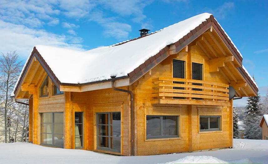 Chalets boisson constructeur de maisons bois dans le jura for Constructeur maison 42
