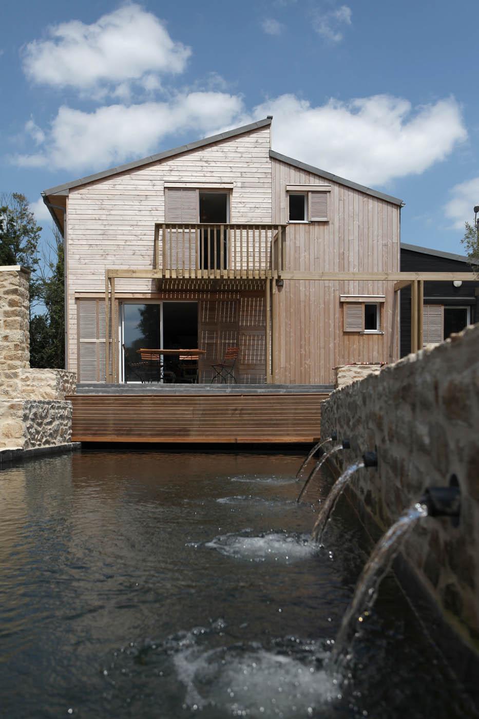 maison de bois patrice bideau auray 56 dans le morbihan. Black Bedroom Furniture Sets. Home Design Ideas