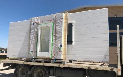 Juin 2020 : construction d'une maison bois sur l'île d'Oléron par Guillaumie Construction Bois