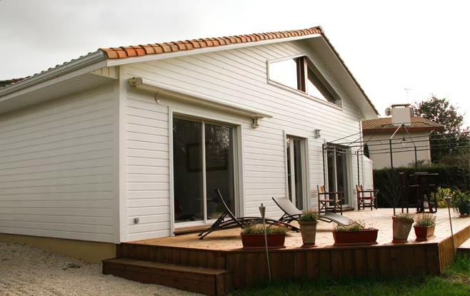 Mayom, constructeur de maisons en bois dans les Landes